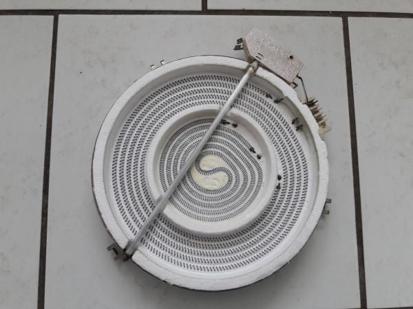 Küppersbusch EK 630.20G, Zweikreiszone 60.22171.030, Kochplatte, Strhlenheizkörper, gebraucht, Erkelenz